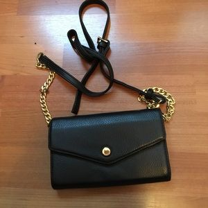 Stella & max black crossbody bag